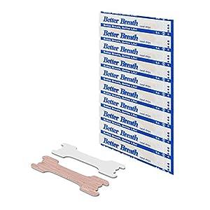 Baoblaze 150 Unidades Tiras Nasales contra Ronquidos/Tiritas Nasales Antirronquidos para Respirar Mejor