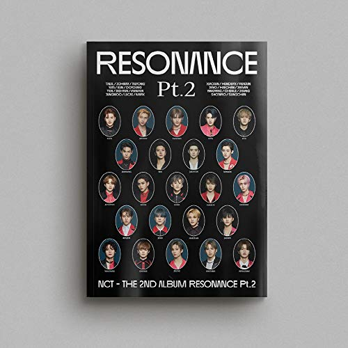 SM Entertainment NCT - The 2nd Album Resonance Pt.2 [Arrival ver.] Album+On Pack Poster+Extra Photocards Set