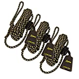Hunter Safety System LLS-3+ Reflective LIFELINE System - New for 2015 (3 Pack), One Size