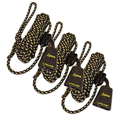 Hunter Safety System LLS-3+ Reflective LIFELINE System - New for 2015 (3 Pack)
