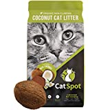 CatSpot Non-Clumping Litter: Coconut Cat Litter,...