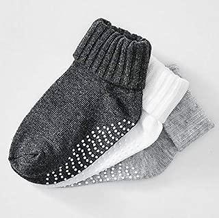 Baby 3 Pack Socks - Grey 2-5 Months