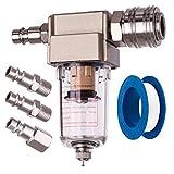 Filtre à air comprimé, Séparateur d'eau, Séparateur d'huile, raccord rapide inclus