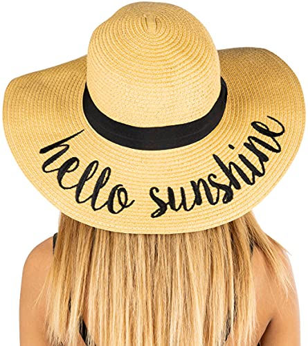 Embroidered Sunhat