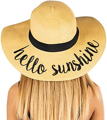 Embroidered Sun Hat – Hello Sunshine