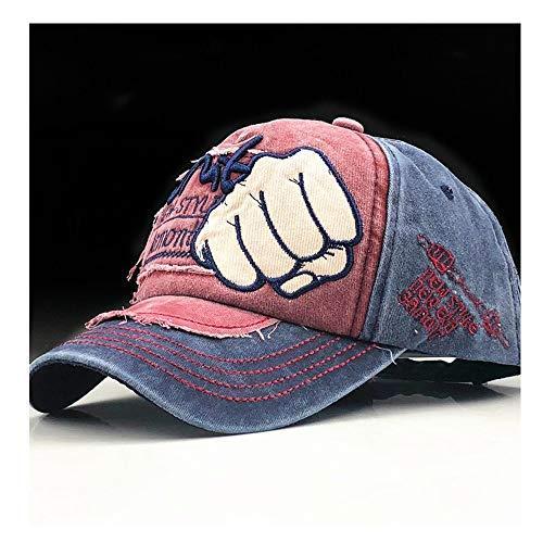 HHF Caps y Sombreos Gorra de béisbol Sombreros sólidos Al por Mayor Algodón Snapback Sombreros Gorra Hip Hop Equipada Sombreros Sombreros para Hombres Mujeres Casquette Personalizado