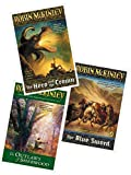 3 Book Set: The Hero and the Crown + The Outlaws of Sherwood + The Blue Sword