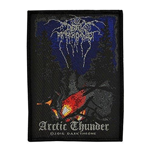 Darkthrone Arctic Thunder Patch Album Art Black Metal Jacket Sew On Applique