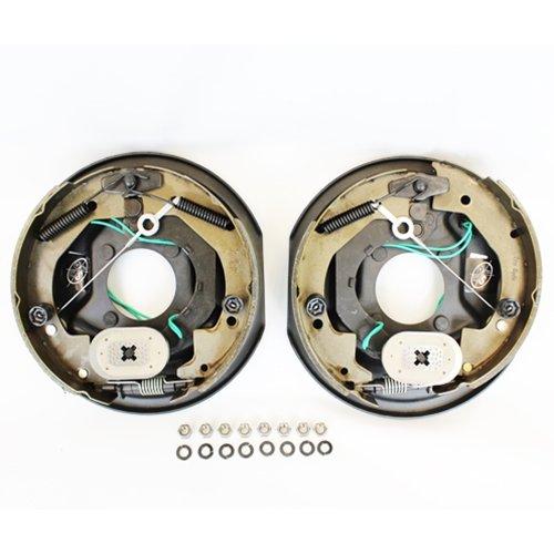 "Southwest Wheel Pair 10"" X 2 1/4"" TruRyde Self-Adjusting Electric Brakes with Hardware"
