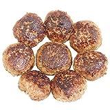 bonbori (ぼんぼり) 究極のひき肉で作る 牛100% ハンバーグステーキ (プレーン) 200g × 8個入り 付属ソース無し [無添加 冷凍 レトルト]