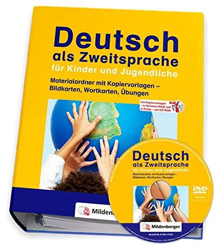 Deutsch als Zweitsprache für Kinder und Jugendliche: Materialordner mit Kopiervorlagen – Bildkarten, Wortkarten, Übungen / Neubearbeitung: mit ... mit Kopiervorlagen, Bild- und Wortkarten