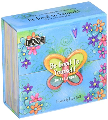 Lang 2017 365 Daily Thoughts Be Good To Yourself, 3.25 x 3 inches (17991015501)