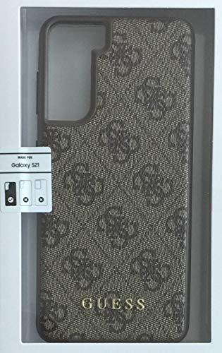 Oferta de CG-Mobile Guess 4G - Carcasa para Samsung Galaxy S21, Color marrón