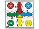 Cayro - Tablero Parchís - Oca De Madera - Juego de Tradicional - Juego de Mesa - Desarrollo de Habilidades cognitivas - Juego de Mesa (T-135)