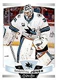 2019-20 O-Pee-Chee #373 Martin Jones San Jose Sharks NHL Hockey Trading Card