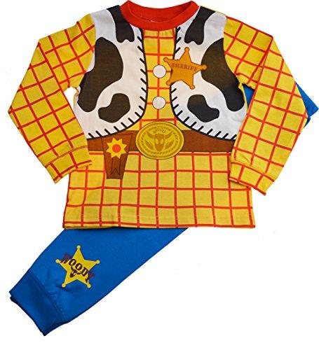 Garçons Disney Toy Story Woody Déguisement Fantaisie Pyjama Ensemble - Multi, 3-4 ans