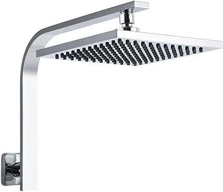 Cefito 8 Inch Showerhead Rain Fall Shower Head - Silver