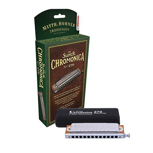 ARMONICA CROMATICA - Hohner (270/48C/7540) Super Chromonica 270 Deluxe 'C' (48 Voces con Cambio)