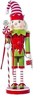 Figurines De Casse-Noisette en Bois Jouet De Marionnette De Soldat pour La D/écoration De Table De Barre De Cadeau De No/ël Ensemble Dornements De Casse-Noisette De No/ël