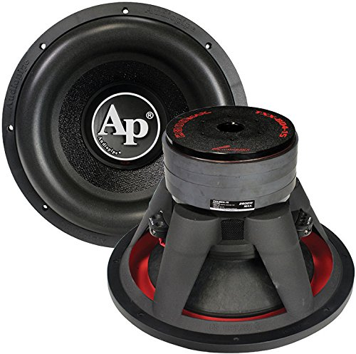 "Audiopipe TXX-BD415 15"" Woofer 2800 Watts Dual 4 Ohm Vc, Black, 17.5""x12""x17.5"""