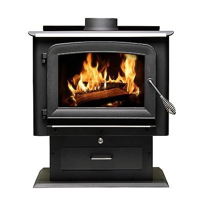 Ashley Hearth AW2520E-P 2,500 Sq. Wood Burning Stove