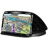 Soporte para teléfono de coche, soporte para teléfono de coche para iPhone 7, 7 Plus, X, 8, 8 Plus, soporte para GPS de salpicadero de montaje en vehículo para Samsung Galaxy S9 S8 Note 8