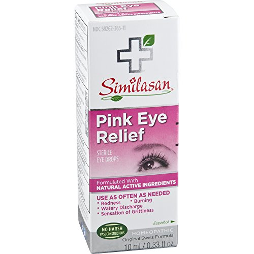 Similasan Pink / Irritated Eye Relief Eye Drops 0.33 oz (Packaging May Vary)