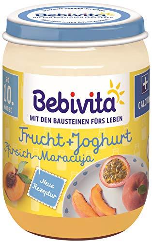 Bebivita Frucht & Joghurt / Quark DUO Pfirsich-Maracuja / Joghurt, 190 g