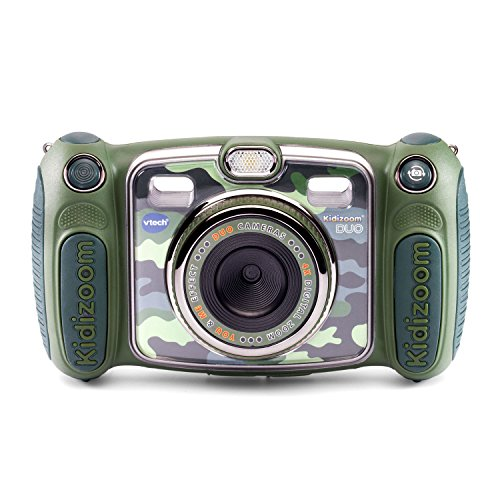 Product Image of the VTech Kidizoom Duo Selfie Camera, Amazon Exclusive, Camouflage, 6.4 Inch
