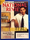 National Review: June 30, 2008 Obama Cover (The Organizer)