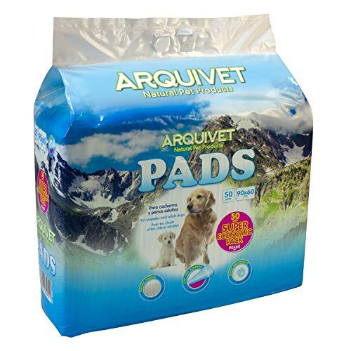 Arquivet Pads Super Economic Pack - higiene Perros - 90 x 60 cm - 50 empapadores