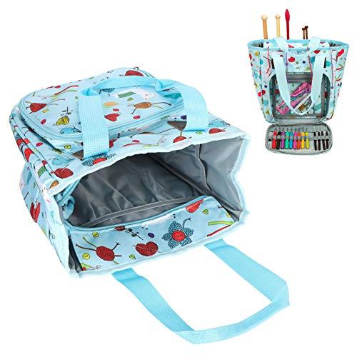 Paquete cilíndrico, bolsas de almacenamiento grandes Bolsa de almacenamiento para el exterior del hogar para madre, abuela, tía, dama(little sheep)