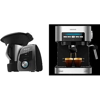Cecotec Robot de Cocina Multifunción Mambo 7090 + Power Espresso 20 Cafetera: Amazon.es: Hogar