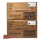 Ozark Outdoorz 01/2018 Pack, 01/2021 Inspection US Military MRE A OR B Case (A and B Case) With US Flag Patch