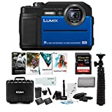 Best Panasonic Gps Cameras - Panasonic LUMIX TS7 Waterproof Tough Digital Camera (Blue) Review