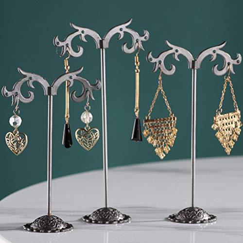 3 piezas de joyería estante exhibición estante titular pendientes organizador almacenamiento regalos-SV