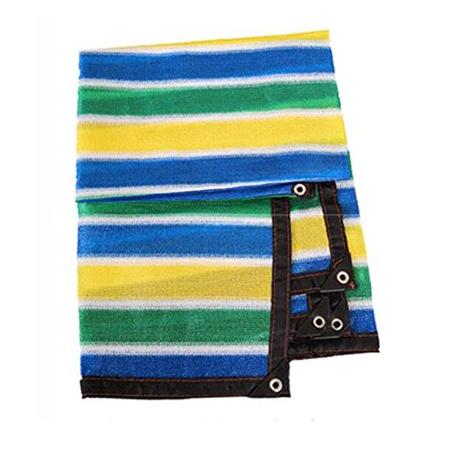 Awnings auvents Xiaoyan 95% UV Abat-Jour en Tissu Noir Premium en Maille Shadecloth Solaire Abat-Jour Net personnalisée, Silver, 2×3m