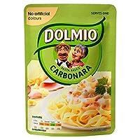 Dolmioのカルボナーラマイクロ波醤油170グラム (x 2) - Dolmio Carbonara Microwave Sauce 170g (Pack of 2) [並行輸入品]