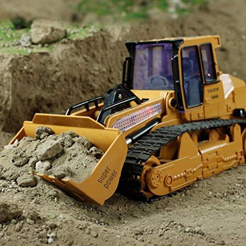RC Kettenfahrzeug kaufen Kettenfahrzeug Bild 1: TianranRT 1: 12 RC Bagger Schaufel Fernbedienung Kontrolle Bau Planierraupe LKW Spielzeug Licht*