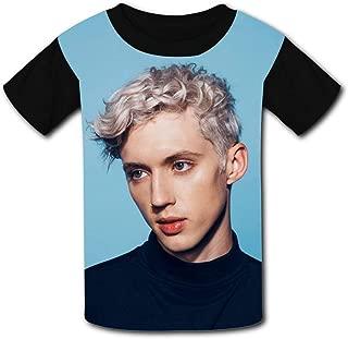 QIANBAIHUI Kids Youth Troyer-Sivan 3D Printed O-Neck T-Shirt Tees