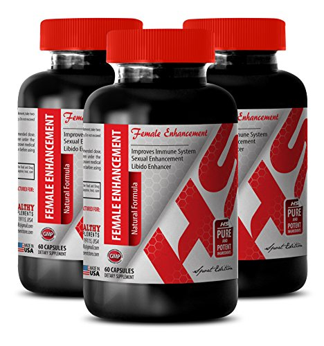 Female Sex enhancements Pill - Female Enhancement 1560MG - Natural Formula - Horny Goat Weed Best - 3 Bottles (180 Capsules)