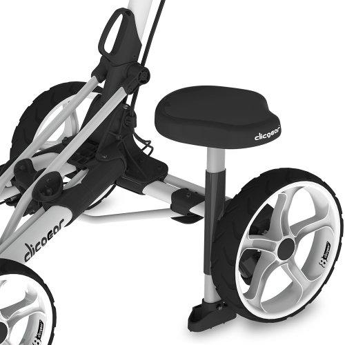 2015 Clicgear Model 8 Golf Trolley Attachable Seat Black