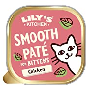 Lily's Kitchen Smooth Pate for Kitten, Chicken + Beef (19 x 85 g)