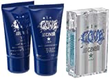 Cavalli Just I Love Him regalo Set Homme/Men, Eau de Toilette 30 ml, Gel de 30 ml, Aftershave Balm 30 ml, 1 juego