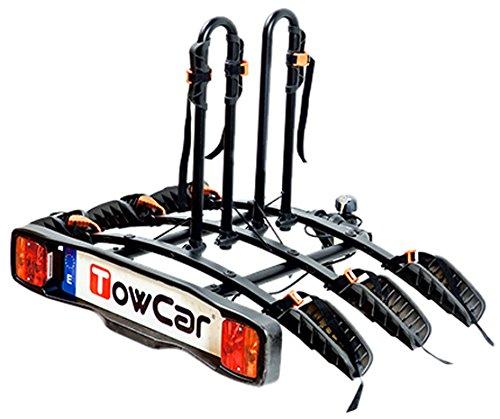 Towcar TCB0003 Fietsendrager/fietshouder voor de auto, voor 3 fietsen