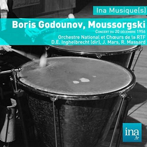 Orchestre National de la RTF, R. Massard, J. Mars & Désiré Inghelbrecht