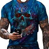 SSBZYES Camisetas De Manga Corta para Hombre Camisetas para Hombre Camisas De Manga Corta para Camisetas De Talla Grande para Hombre Estampado De Verano Camisetas Casuales De Manga Corta Camisetas