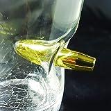 Volltreffer Whiskeyglas mit Patrone im Glas – Whiskyglas Whiskey Tumbler Whisky Tumbler - 3