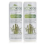 2 x EcoEgg Bamboo Towels