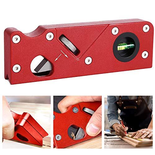 Woodworking Edge Corner Plane,Manual Wood Planer Chamfering Trimming Planer DIY Hand Tool,Precision, Zero error, Indispensable Instrument for DIY Wooden Crafts